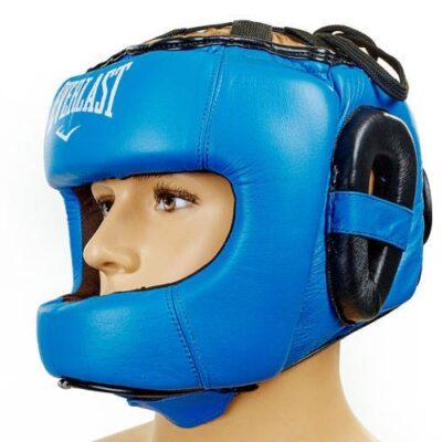 Шлем Everlast кожа с бампером
