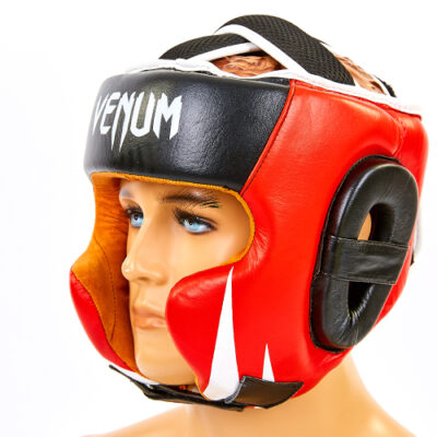 кожаный шлем