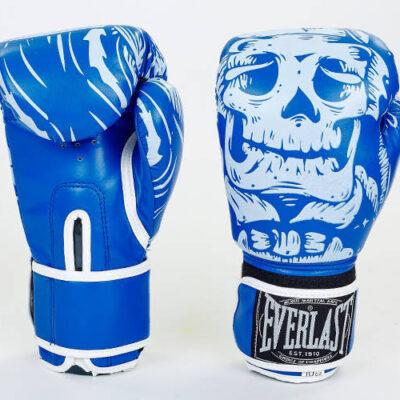 Перчатки боксерские на липучке Everlast
