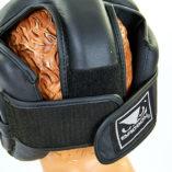 Шлем боксерский кожаный BAD BOY